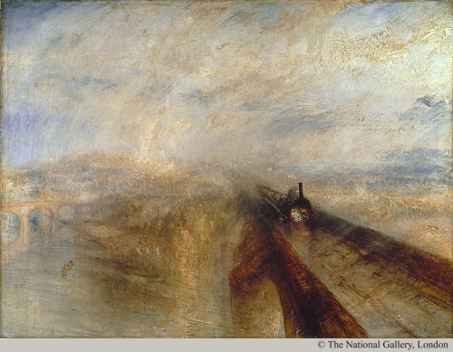 an analysis of rain steam and speed the great western railway a painting by j m w turner Joseph mallord william turner (23 april 1775 he is now regarded as the artist who elevated landscape painting to an eminence rivalling history painting rain, steam and speed the great western railway 1844.